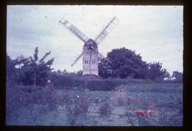 Stocks Mill, Wittersham, preserved with two damaged sails