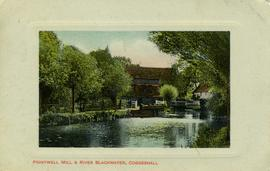 Pointwell Mill & River Blackwater, Coggeshall