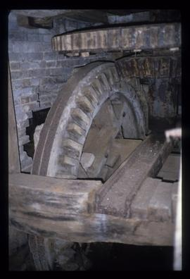 Part of gearing, Shorwell Mill, Yafford