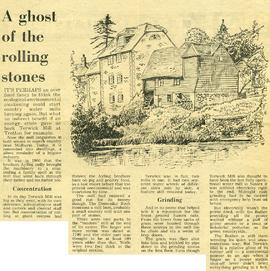 """A ghost of the rolling stones"""