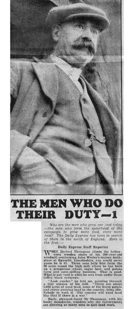 """The men who do their duty - 1"""
