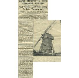 """Capel efforts to save Shiremark windmill"""