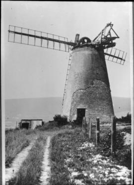 Ocklynge Tower Mill, Eastbourne, derelict