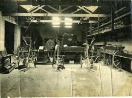 Dover Road yard, interior of main workshop