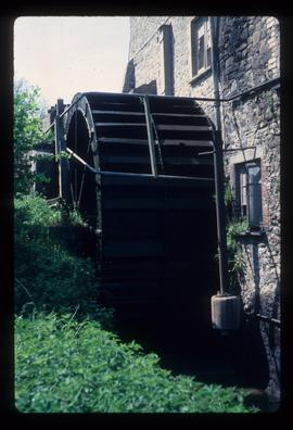 View of unidentified watermill building
