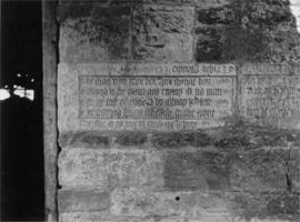 Stone inscription , Fiddleford Mill, Okeford Fitzpaine