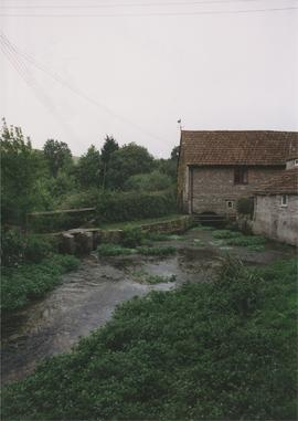 Upstream view, Godmanstone Mill, Godmanstone
