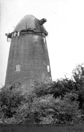 North Tower Mill at Clavering, Essex