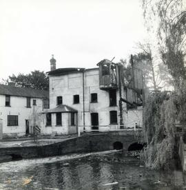 Old Mill, Bexley, after fire