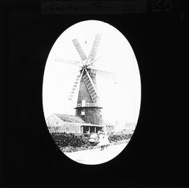 Pocklington's Mill, Heckington, Lincs - bad copy of old print