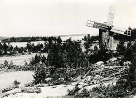 Toe mill and farmland in Kustavi, Varsinais-Suomi