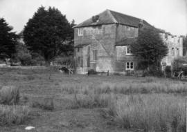 Hackett's Mill, West Ashling, showing turbine housing