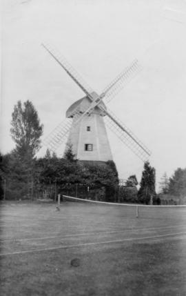 View from tennis court, Watts' Cross Mill, Hildenborough