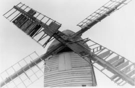 Sails close-up, post mill, Drinkstone