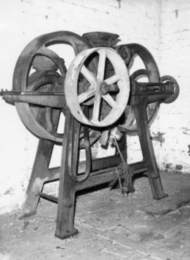 Oat crusher, Burcombe Mill, South Newton
