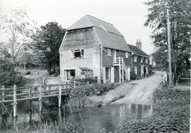 Aldham Mill, Hadleigh, and stream