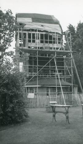 Durrington Mill, High Salvington, under repair