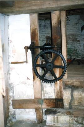 Sluice control, Hall Mill, Hilborough
