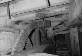 Pit wheel and wallower, watermill, Cavenham