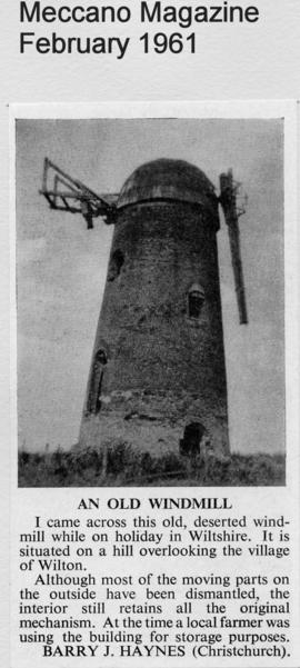 """An old windmill"""