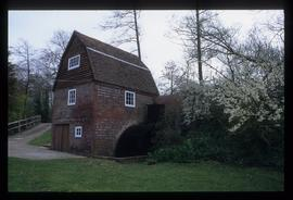 Upper Mill, Plumpton, preserved with wheel