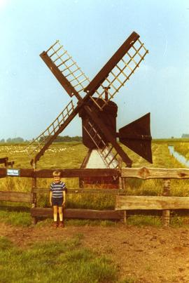 Unidentified Dutch meadow mill, summer 1972