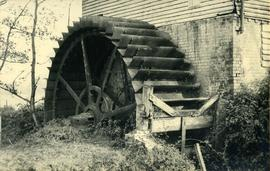 Quarter-shot wheel, Freshfield Mill, Horsted Keynes