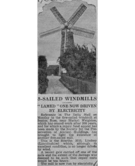 """5-sailed windmills"""
