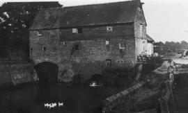 View from downstream, Wanford Mill, Bucks Green