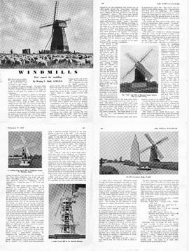 """Windmills - their aspects for modelling"""