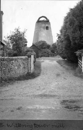 E. Wittering tower mill