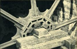 Details of wheel construction, watermill, Lurgashall