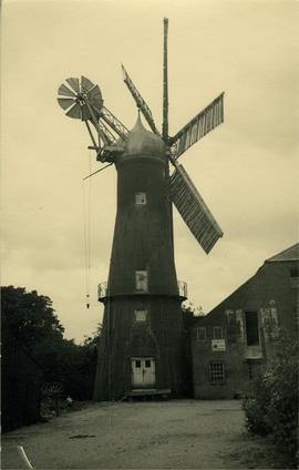 Myer's Mill, Alford, working