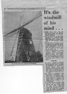 """It's the windmill of his mind"""