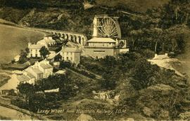 Laxey Wheel from Mountain Railway I.O.M