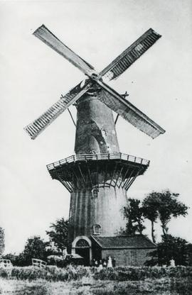 Unidentified tower mill, Netherlands - 1b
