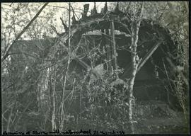 Remains of Sturry mill, waterwheel, 31 March '54