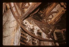 Interior , smock mill, Herne