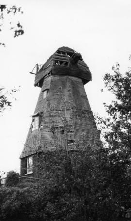 Beacon Mill, Benenden, derelict