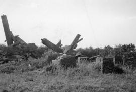 Wreckage, post mill, Stokenchurch