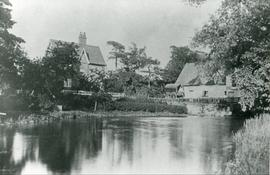 Homersfield Mill, Homersfield, and mill pond
