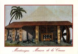 Postcard of Maison de la Canne, Martinique