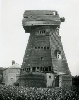 Derelict Smock Mill, Wakering, Essex