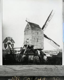 Post mill, Hythe, Colchester