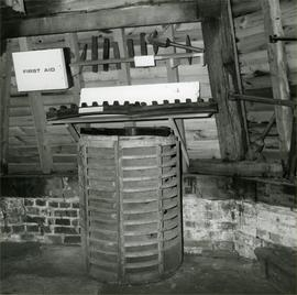 Mill components, patterns and stone dressing tools, Davison's Mill, Stelling Minnis