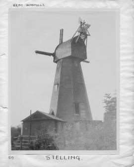 Davison's Mill, Stelling Minnis, with no sweeps, part fan