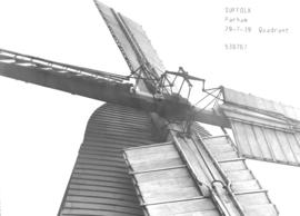 Post mill in Parham, Suffolk