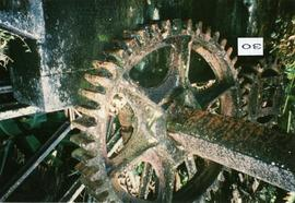 Photograph of the reduction gear at Farm Mill, St Vincent