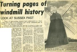 """Turning pages of windmill history"""