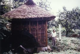 Photograph of a Janaese rice mill
